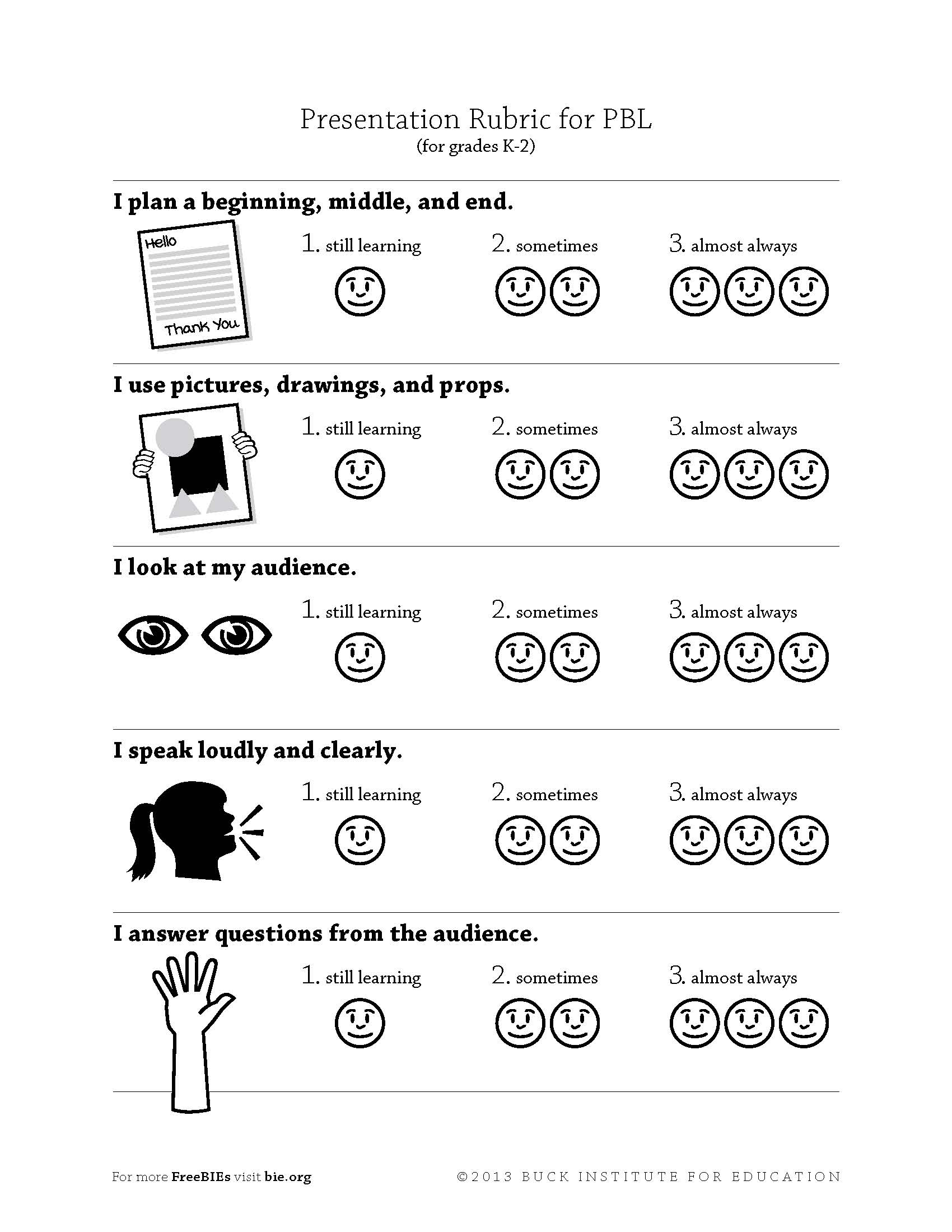 assessment for learning 7 essay Linking classroom assessment with  to write an essay  using assessment as part of the learning process instead of in a summative role at.