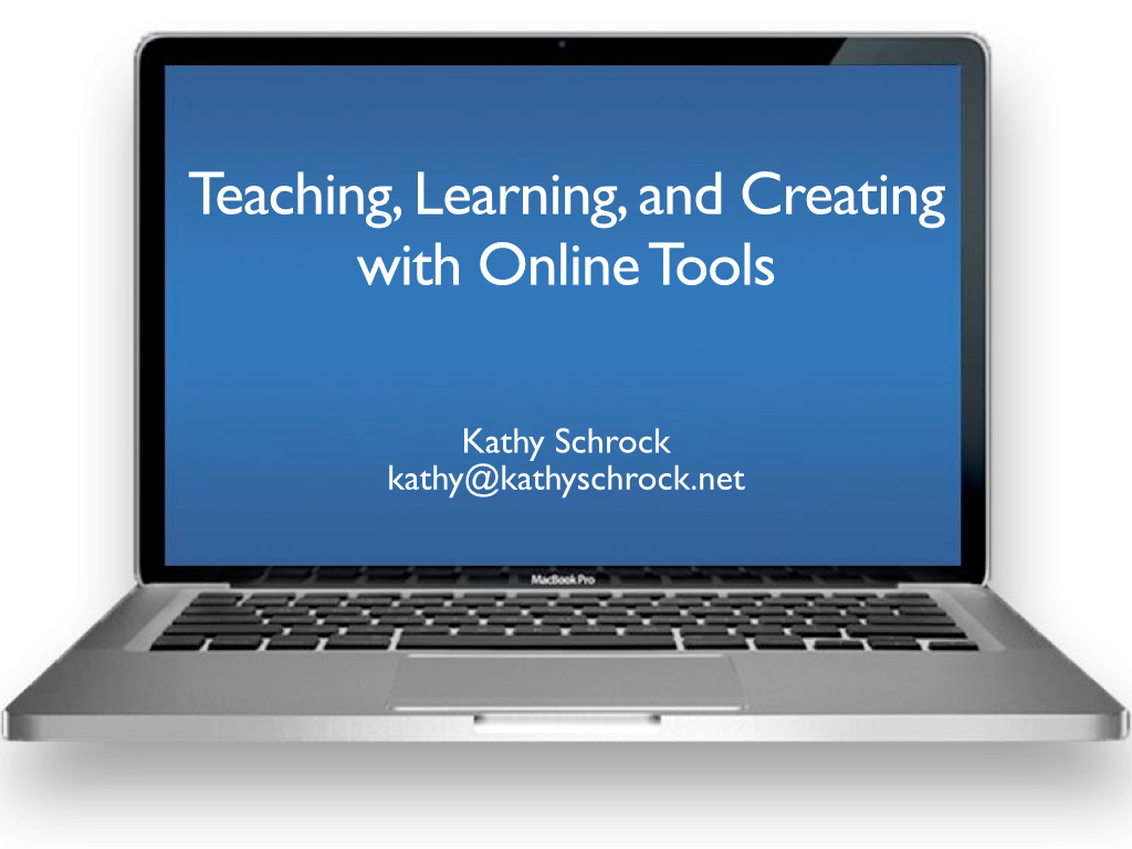 Online Tools - Kathy Schrock's Guide to Everything